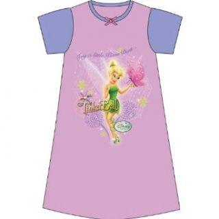 M�dchen Disney Feen Tinkerbell kurz�rmliges Nachtkleid (2 3 Jahre) (pink/lila): Bekleidung