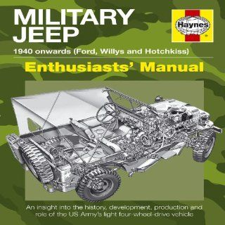Military Jeep: 1940 Onwards Ford, Willys and Hotchkiss Haynes Owners' Workshop Manuals: Pat Ware: Englische Bücher