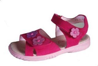 D�umling Kinderschuh, M�dchen Sandale, pink, Gr��e schmal 30: Schuhe & Handtaschen