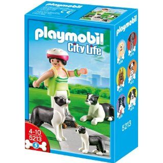PLAYMOBIL 5213   Border Collie Familie: Spielzeug