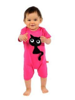 Spieler Hot pink Cat Jump suit Lipfish Schweden Baby M�dchen Kleidung (74): Bekleidung