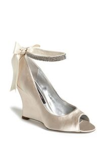 Nina Emma Crystal Embellished Ankle Strap Pump (Online Exclusive)