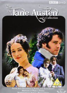 The Jane Austen BBC Collection: Pride & Prejudice / Persuasion / Northanger Abbey / Sense & Sensibility / Mansfield Park / Emma 9 DVD Box Set UK Import: Jane Austen: DVD & Blu ray