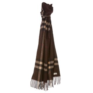 Burberry '3826751' Giant Check Cashmere Scarf Burberry Designer Scarves & Wraps