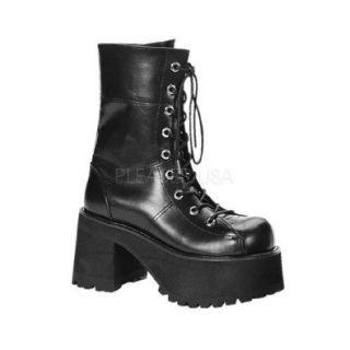Demonia Ranger 301   Gothic Industrial Unisex Plateau Stiefel Schuhe 36 43 Schuhe & Handtaschen