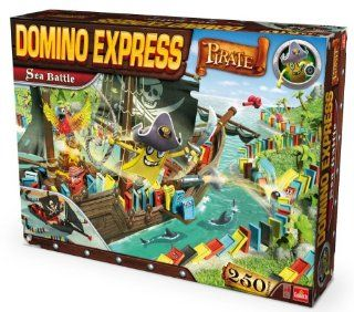 80891004   Goliath Toys   Domino Express Pirate Sea Battle: Spielzeug
