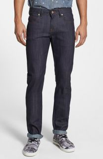 Naked & Famous Denim Skinny Guy Skinny Fit Jeans (Indigo Power Stretch)