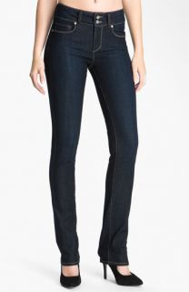 Paige Denim Skyline Straight Leg Stretch Denim Jeans (Stream Wash)