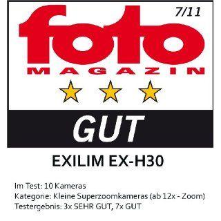 Casio Exilim EX H30 Digitalkamera 3 Zoll schwarz: Kamera & Foto