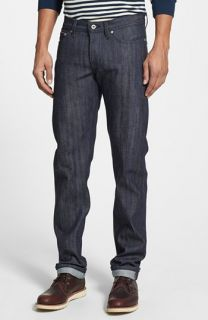 Naked & Famous Denim Weird Guy Slim Fit Selvedge Jeans (Rainbow Core Selvedge)