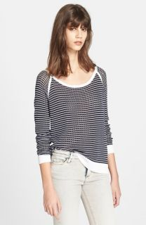 rag & bone Arianna Raglan Pointelle Sweater