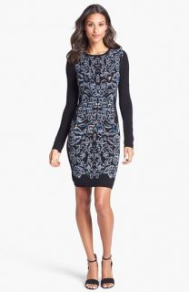 Nicole Miller Space Dye Sweater Dress