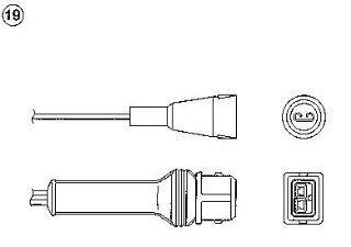 NGK   LAMBDASONDE AUDI A6 (4A, C4) 2.0 16V 06/1994 bis 10/1997, 103/140 kW/PS, 1984ccm   AUDI A6 (4A, C4) 2.0 16V quattro 06/1994 bis 10/1997, 103/140 kW/PS, 1984ccm (3 Wege): Auto