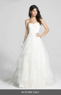 Hayley Paige Mila Strapless Silk Organza Wedding Dress (In Stores Only)