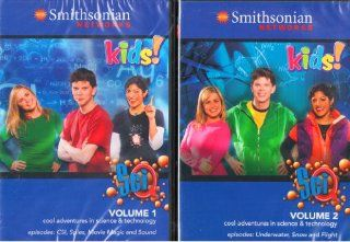 Smithsonian Networks Kids Educational Adventures in Science & Technology   6 Episodes   CSI , Spies , Movie Magic , Underwater , Snow , Flight   2 Disc Set : 184 Minutes: Movies & TV