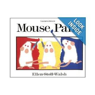 Mouse Paint: Ellen Stoll Walsh: 9780152002657: Books