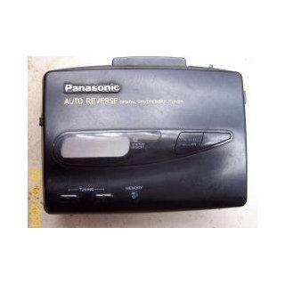 Panasonic Stereo Radio Cassette Player Walkman Style RQ V185 Digital Tuner Auto Reverse  Players & Accessories