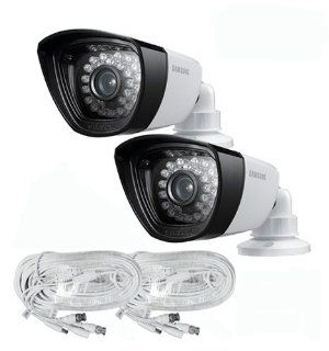 600TVL Samsung SDC 5340BCD Day/Night All Weather Proof Camera (2 PACK) with Cables: Camera & Photo