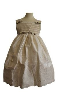 Classykidzshop 192 Flower Girl Dress with Purse: Clothing