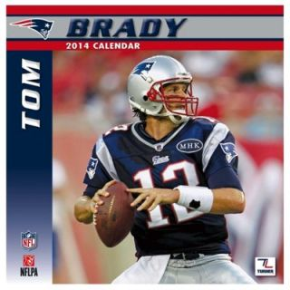 Tom Brady New England Patriots 2014 Wall Calendar