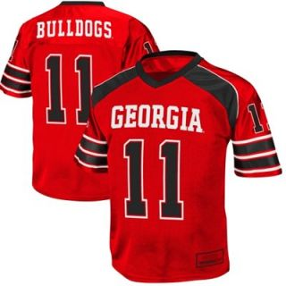 Georgia Bulldogs #11 Preschool End Zone Football Jersey   Crimson