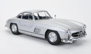 Mercedes 300 SL (W198), silver, Interieurfarbe: blue, special model MCW, limited Edition 500 pieces, Model Car, Ready made, Premium ClassiXXs 1:12: Premium Classixx: Toys & Games