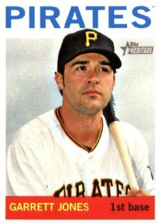 2013 Topps Heritage MLB Trading Card # 193 Garrett Jones Pittsburgh Pirates: Sports Collectibles