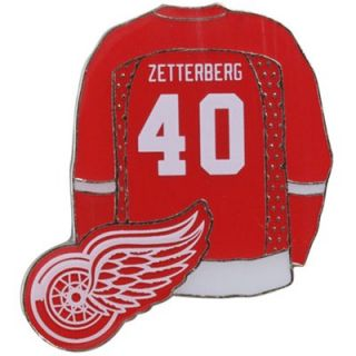 Henrik Zetterberg Detroit Red Wings #40 Jersey Player Pin