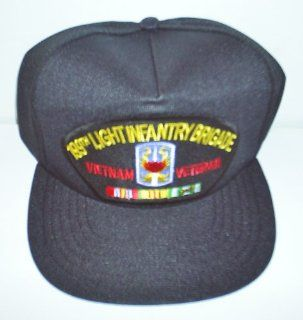 199TH LIGHT INFANTRY BRIGADE * VIETNAM VETERAN W/CAMPAIGN RIBBON EMBLEM Ball Cap/ Hat: Everything Else