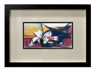 Pablo Picasso (1881 1973) Color Lithograph  Guernica Study  S.P.A.D.E.M Authorized  Emboss Sealed Numbered Limited Edition nº 89/199  ART·docs™ Registered Documentation¹ + ART·care™ Conservation Framing² + ART·