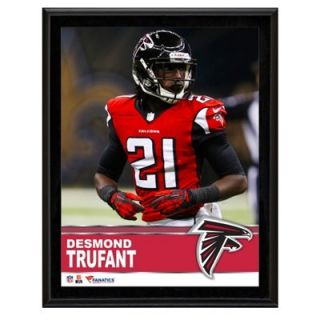Desmond Trufant Atlanta Falcons Sublimated 10.5 x 13 Plaque