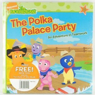 Book   Backyardigans The Polka Palace Party (195 Pieces): Toys & Games