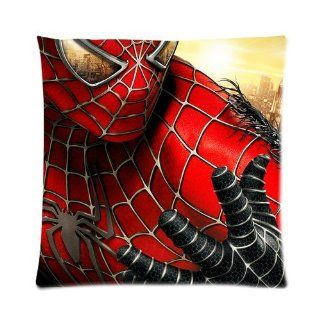 Personalized The Amazing Spider Man Pillow Cases  One Side Square Pillowcase Pillow Cover Size 16x16 inch.   Throw Pillows