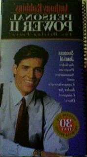 Anthony Robbins' Personal power II: The driving force: Anthony Robbins: Books