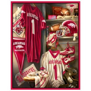 Arkansas Razorbacks 48 x 60 Locker Room Fleece Blanket