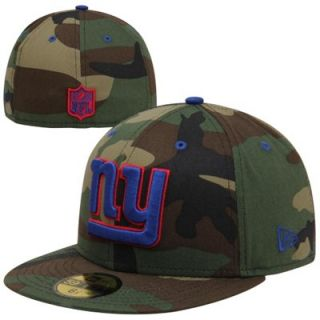 New Era New York Giants Camo Pop 59FIFTY Fitted Hat   Camo