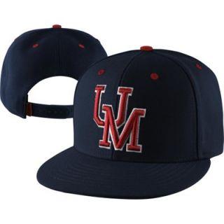 47 Brand Mississippi Rebels Navy Blue Oath Adjustable Snapback Flat Bill Hat