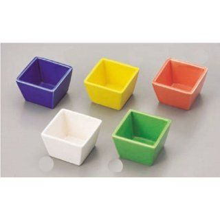 bowl kbu135 51  55 202 [each x 2.29 x 2.29 x 1.5 inch] Japanese tabletop kitchen dish Color delicacy Taniguchi mass type delicacy set each [5.8x5.8x3.8cm] inn restaurant Japanese restaurant business kbu135 51  55 202: Kitchen & Dining