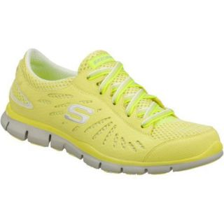 Women's Skechers Gratis Spectacle Yellow Skechers Slip ons