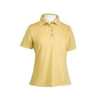Bermuda Sands Women's Lady Shadow  Micro Fiber Golf Shirt   Antique Gold   Size Large  Other Products