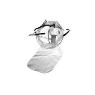 Allied Healthcare Non Rebreather Mask with Safety Vent, Adult, 25/Pk: Health & Personal Care