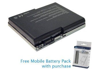 Dell 6T226 Battery 98Wh, 6600mAh with free Mobile Battery Pack: Computers & Accessories