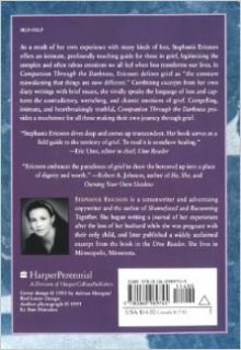 Companion Through The Darkness: Inner Dialogues on Grief: Stephanie Ericsson: 9780060969745: Books