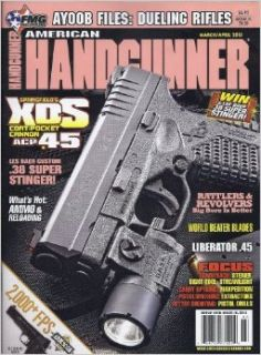 American Handgunner Magazine Issue 222 (March/April 2013): Roy Huntington: Books