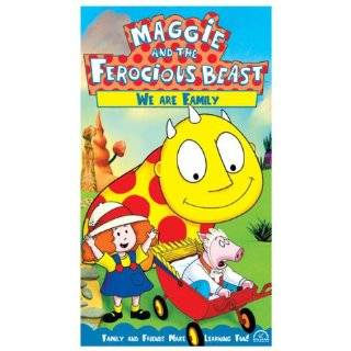 Maggie and the Ferocious Beast   We Are Family [VHS]: John McGrath, Tamara Bernier, Dan Chameroy, Kristen Bone, Michael Caruana, Helmut Gau�, Stephen Ouimette, Gerrit Schmidt Fo�, Betty Paraskevas, Michael Paraskevas: Movies & TV