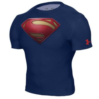Under Armour Alter Ego Comp Shortsleeve Full Suit   Mens   Training   Clothing   Midnight Navy/Red