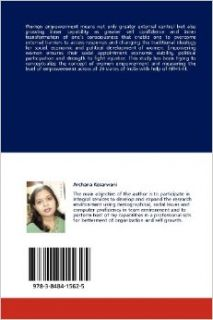Measuring Women Empowerment: Across All Selected 29 States of India (9783848415625): Archana Kesarwani: Books