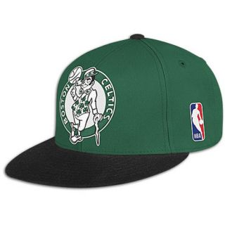 Mitchell & Ness NBA XL Logo Two Tone Fitted Cap   Mens   Basketball   Accessories   Boston Celtics   Multi
