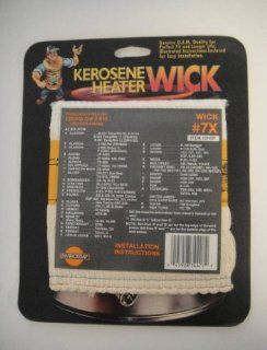 Aladdin Kerosene Heater Wick #7 For Models B 231 Temp Rite 95; B 331 Temp Rite 11; J 480 Happy ll, P 32001, (HN 4020B); S 471 Temp Rite 95 (SW 4720); S 481 Temp Rite 10 (SW4120): Home Improvement