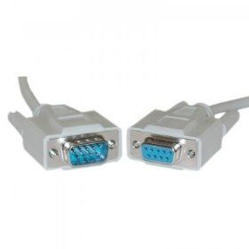 Serial Extension Cable 10ft, UL, DB9 Male to DB9 Female, rs232: Industrial & Scientific